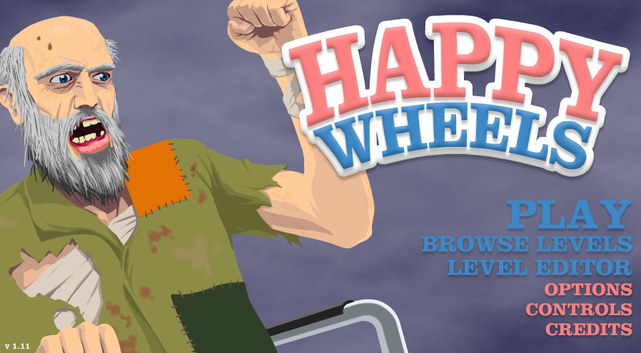 Black And Gold Games Play Happy Wheels Without Downloading