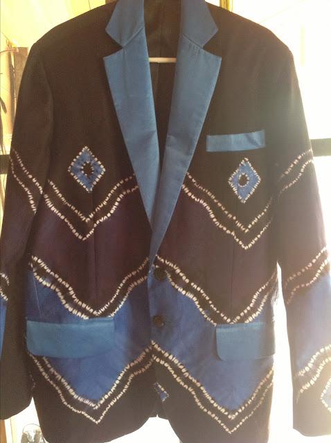 Model Baju Jas Tuxedo Sasirangan Terbaru 2016