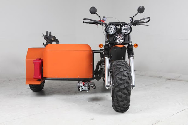 Desert Harley Trike