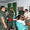 Pengawas Kodam XVI/Hsn, Pantau Proses Seleksi CATAK PK TNI AD GEL 1, di Sub Panda Bone TA 2019