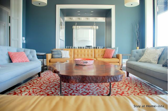 blue and coral living room serenity now highlighted weekend links your best 20937