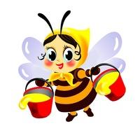Сучасні вірші для дітей українською: Віршик про бджілку ...