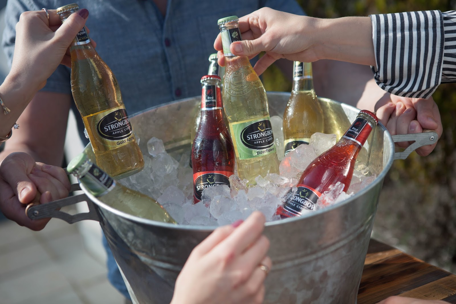 Lass uns mit Strongbow Apple Ciders die Naturoasen in den Großstädten entdecken