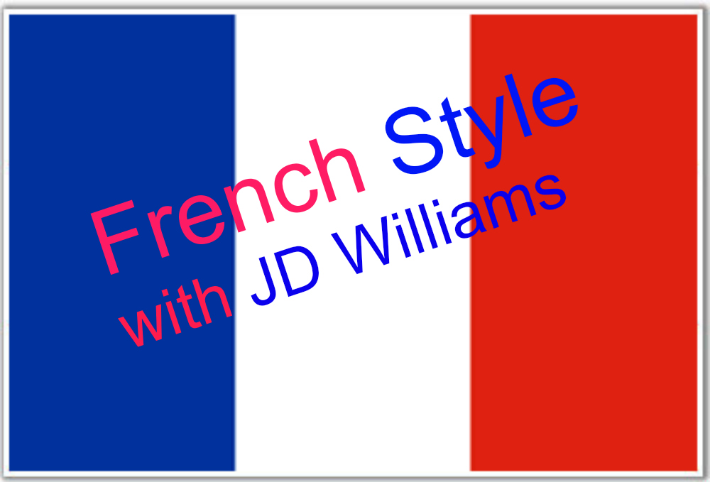 Style a la Francaise with JD Williams