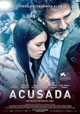 Acusada 2018 Custom HD Latino 5.1
