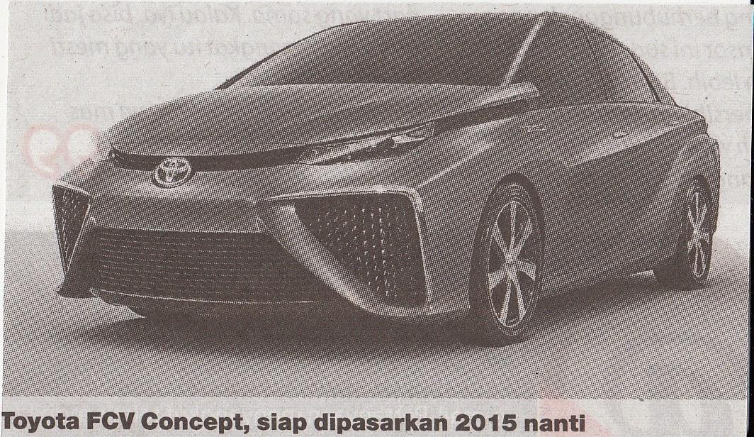 FCV dari Toyota