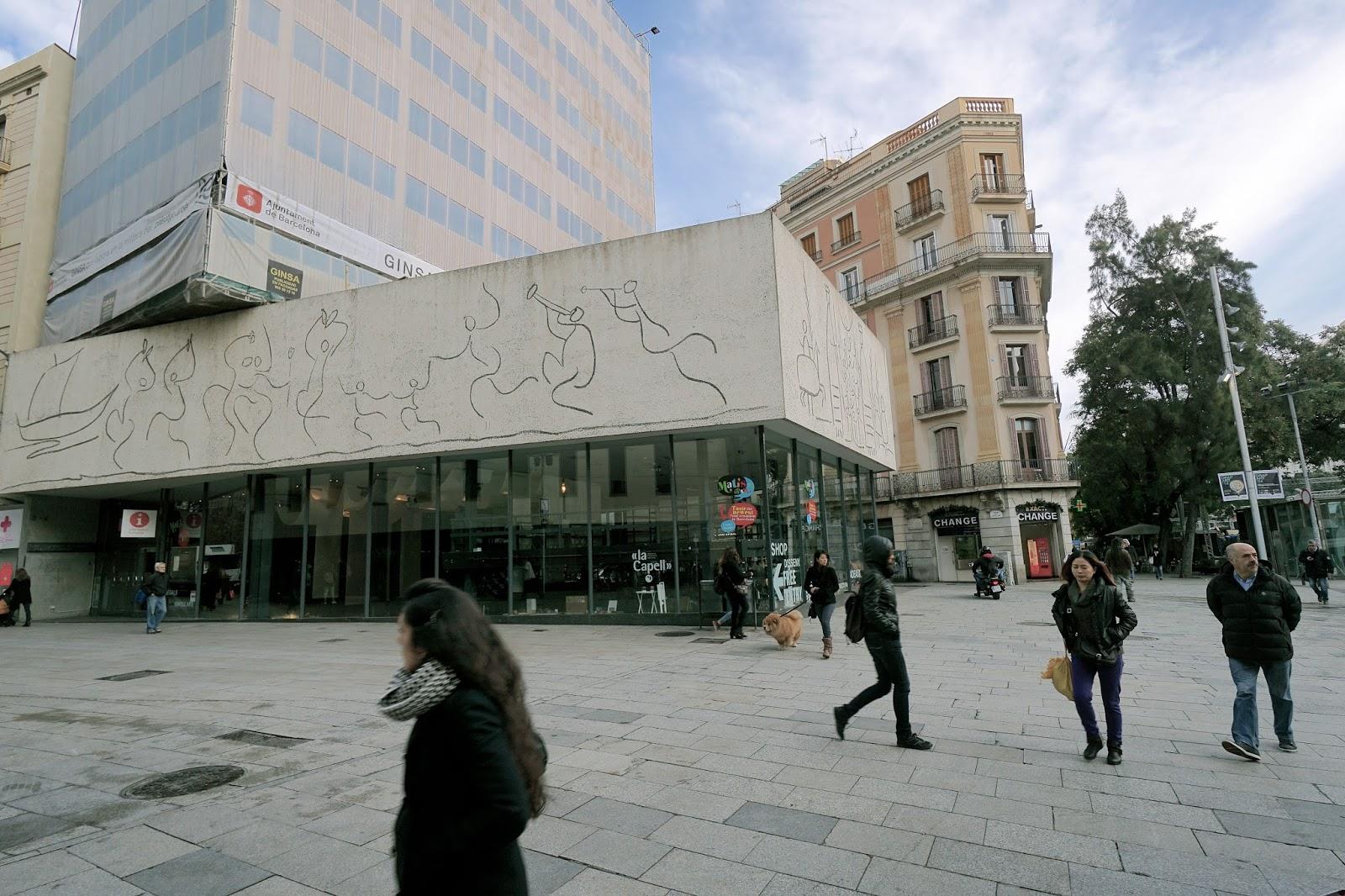 建築家会館 ピカソの壁画