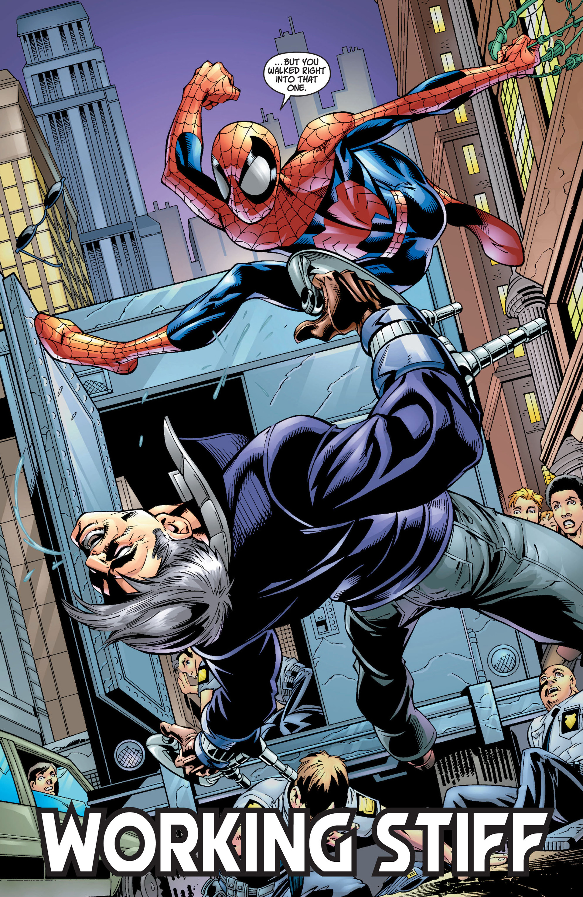 Read online Ultimate Spider-Man (2000) comic -  Issue #8 - 4