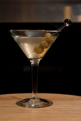 dirty martini, vodka, dry vermouth, green olive juice