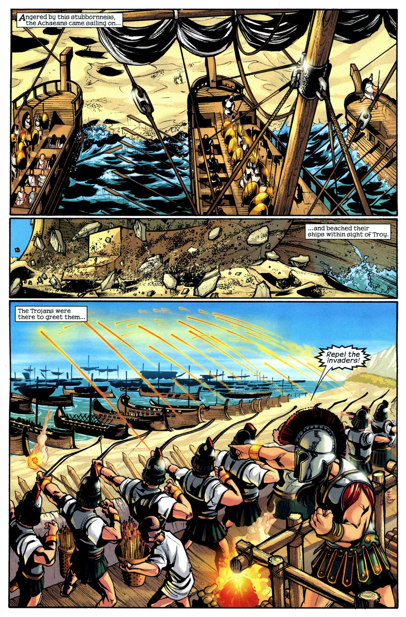Read online Trojan War comic -  Issue #2 - 13