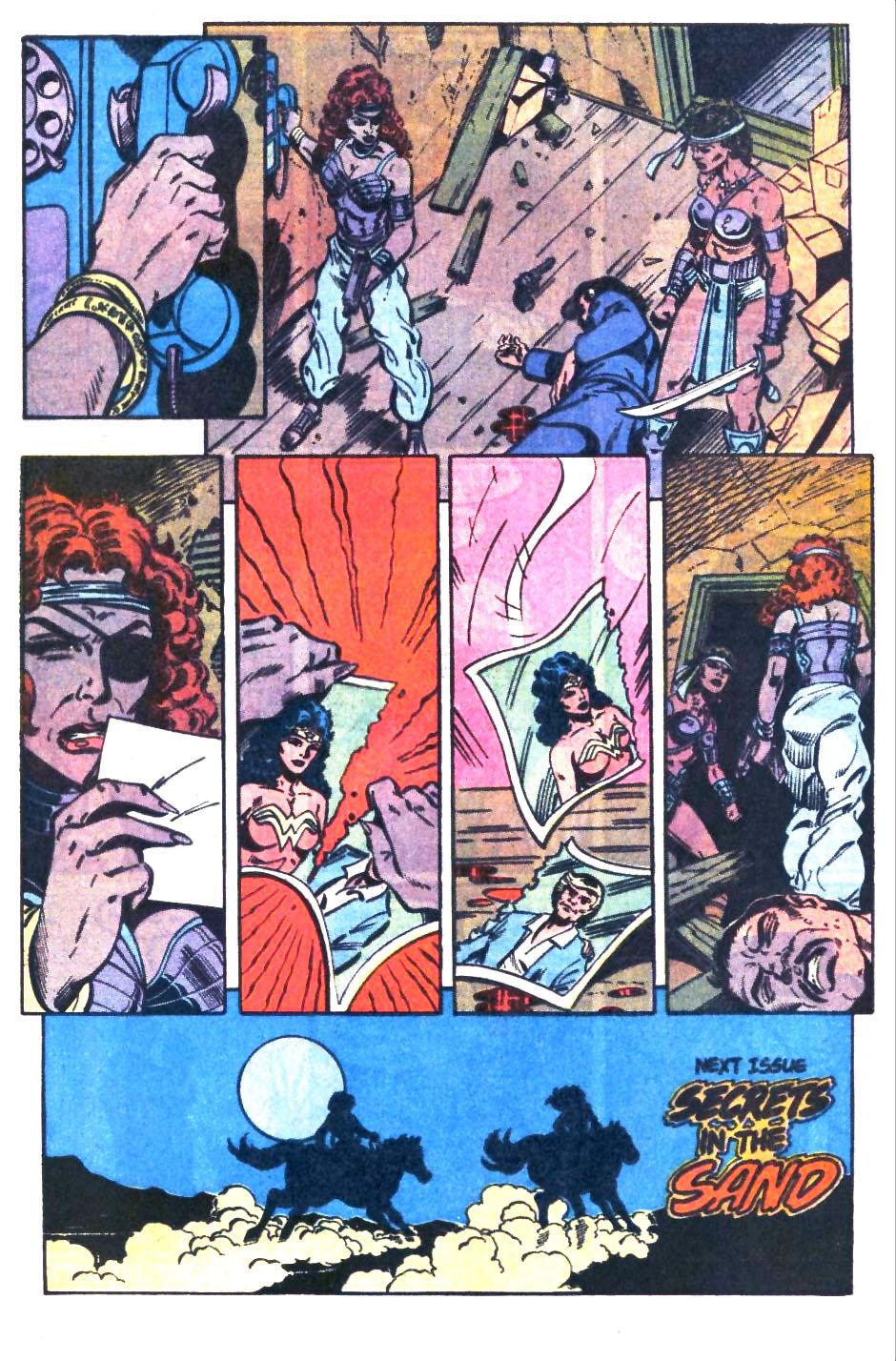 Read online Wonder Woman (1987) comic -  Issue #32 - 23