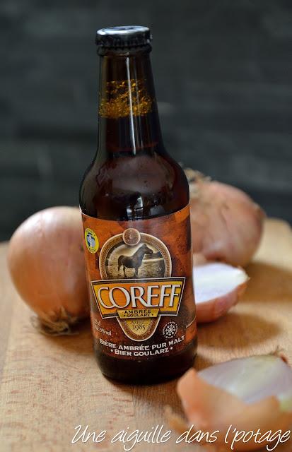 bière Coreff ambrée