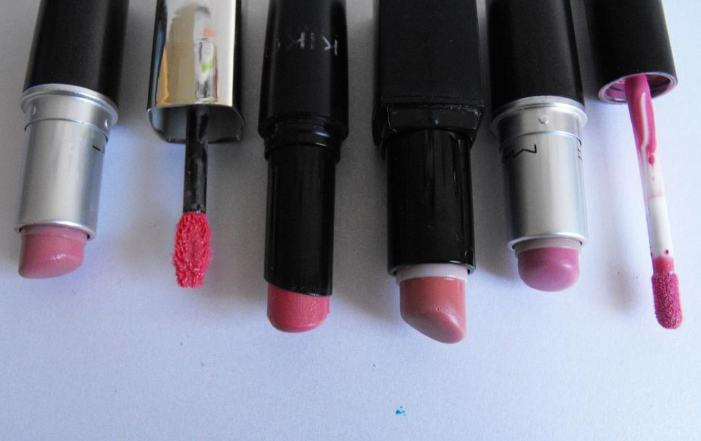 Most Used Pink Lip Products