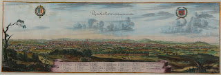 Vue de Paris 1654