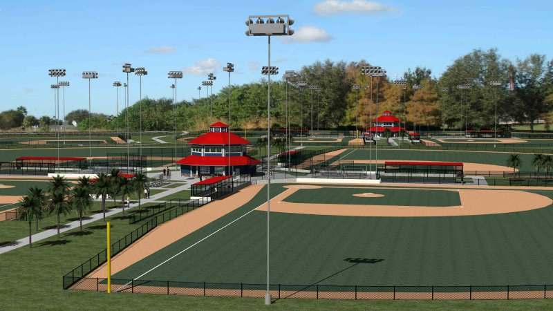 Space Coast Sports Complex Artist's Rendering