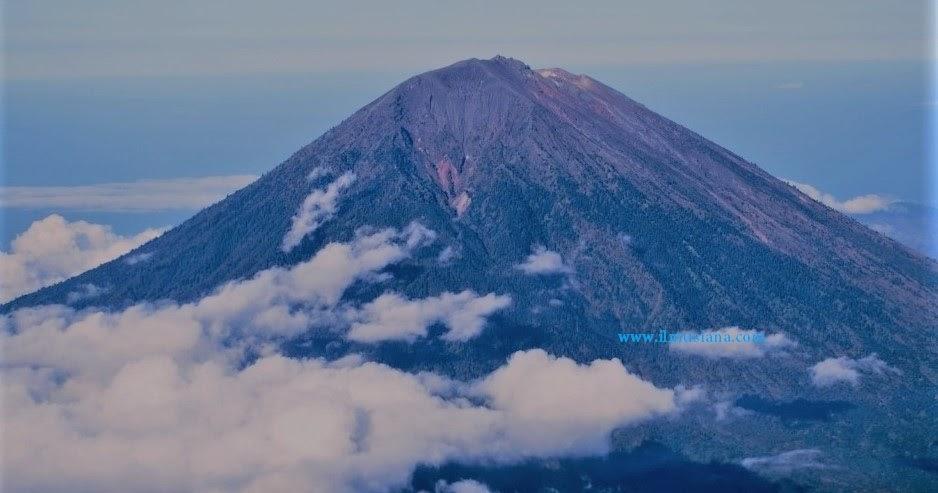 20 Gunung Tertinggi di  Indonesia  Data Lengkap Ilmusiana