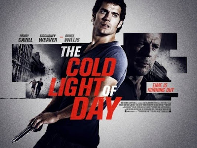 Um filme estrelando Henry Cavill, Bruce Willis e Sigourney Weaver. - The Cold Light of Day