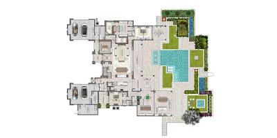 新しいアメリカの住宅 見取り図