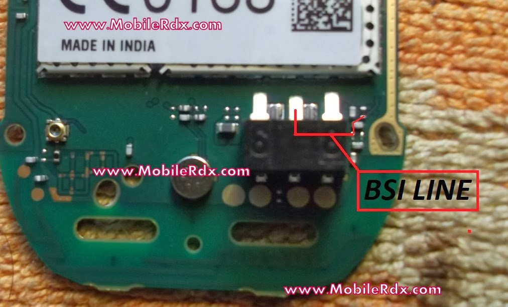 Nokia 105 BSI Line Battery Connecter Ways  GSM Mobile Repairs