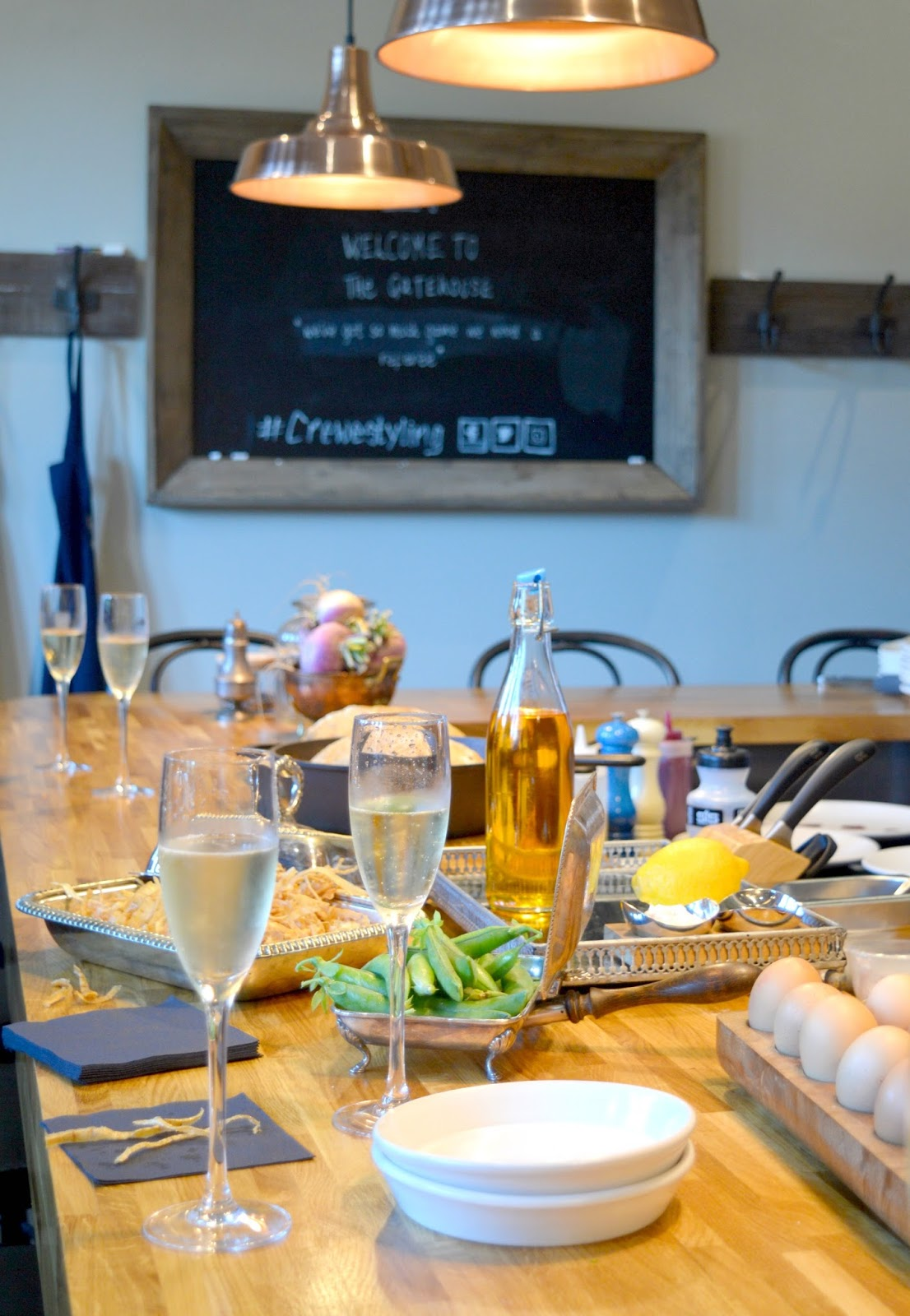 The Crewe Supper Club at the Gatehouse, Lord Crewe Arms, Blanchland - Chef Jared