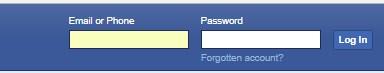 Facebook.com Log in or Sign Up
