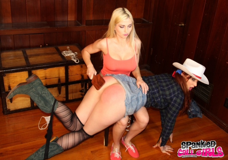 Sexy Women Being Spanked