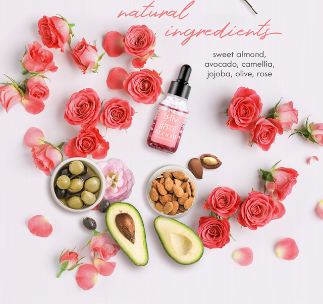 B.liv Organic Rose Bloom Enchanted Floral Oil