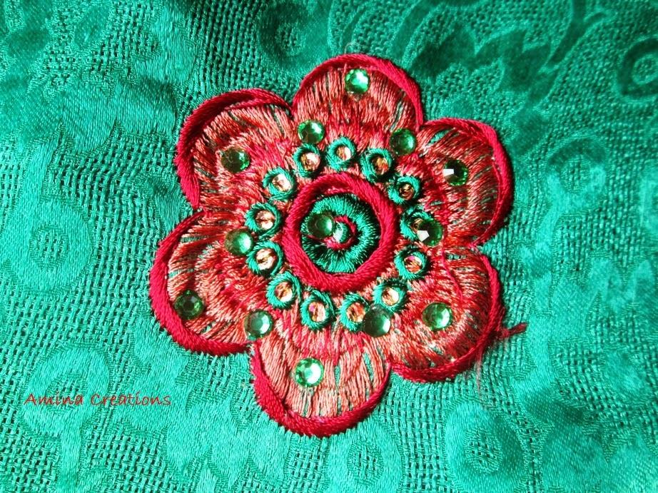 Amina creations embroidery