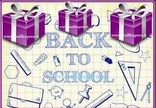 Logo Omaggi sicuri per tutti con ''Back to School''
