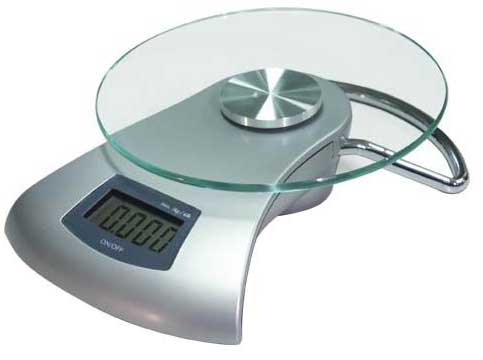 Electronic Kitchen Scale Model Number  S Vdr