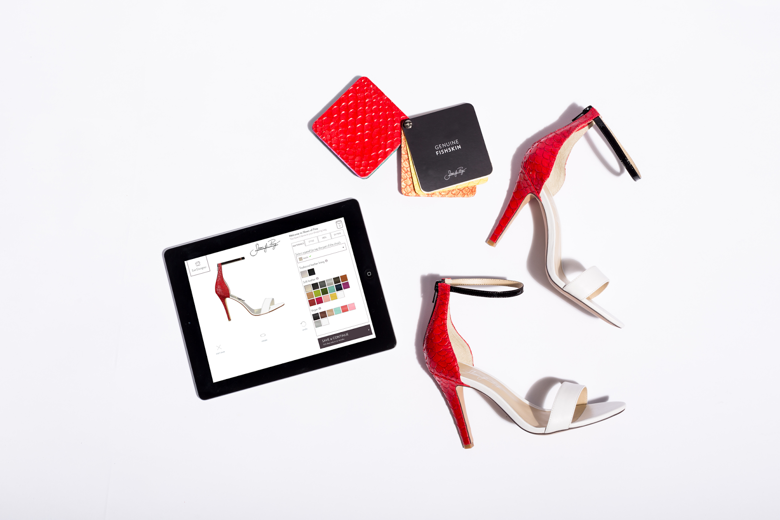 """be970c85369 Shoes of Prey embraces a """"design your own"""" experience for bespoke shoes and  workplace technology"""