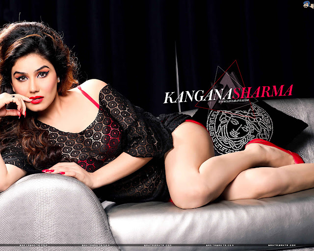 Kangana Sharma HD Wallpaper