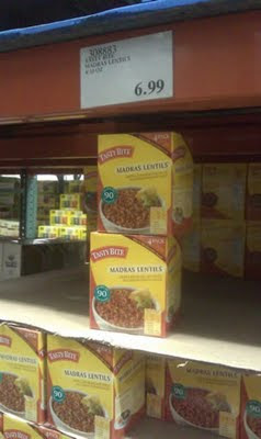 Gluten-Free Tasty Bite Madras Lentils at Costco