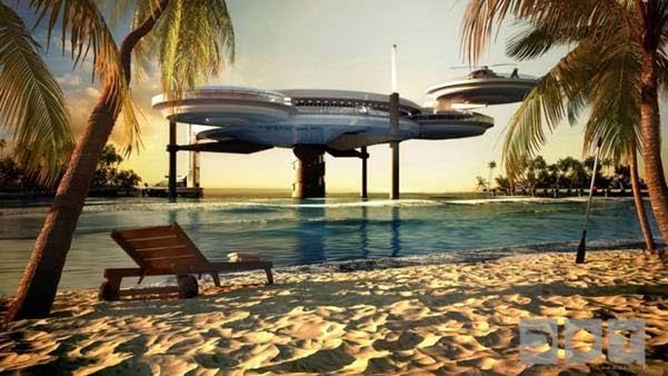 A Hotel Under Water In Dubai 2
