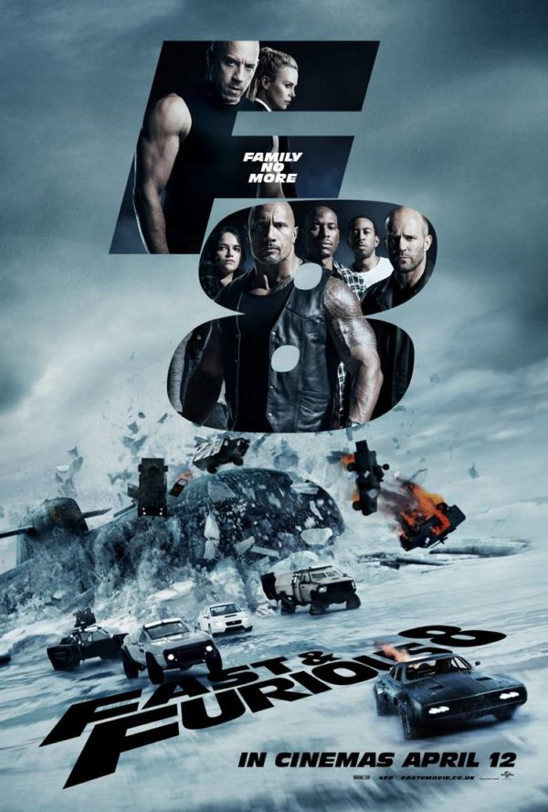 MOVIE REVIEW : FAST & FURIOUS 8!