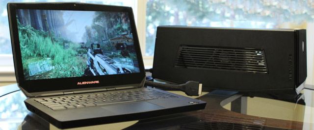 Thunderbolt 3 conexão com amplificador e placa de video externa