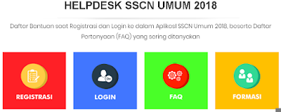 Cara Buka Menu Helpdesk di SSCN