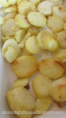 Запеканка картофельная с кабачками
