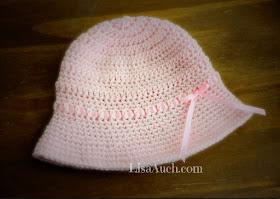 sunhat, free sunhat crochet patterns, child sunhat with brim crochet pattern, baby hat pattern, crochet hat