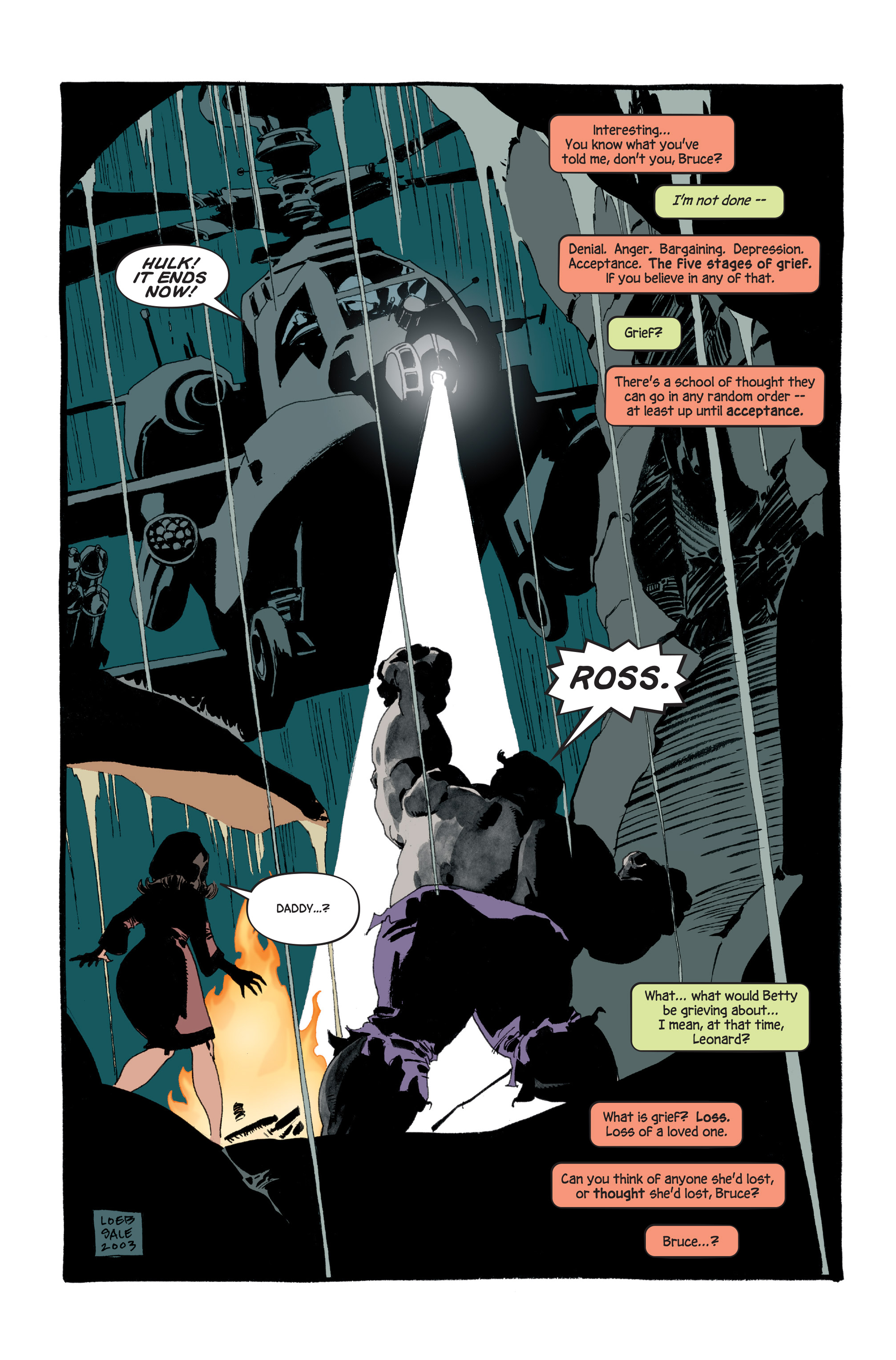 Read online Hulk: Gray comic -  Issue #5 - 22