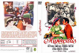 Carátula dvd: Mujercitas 1949