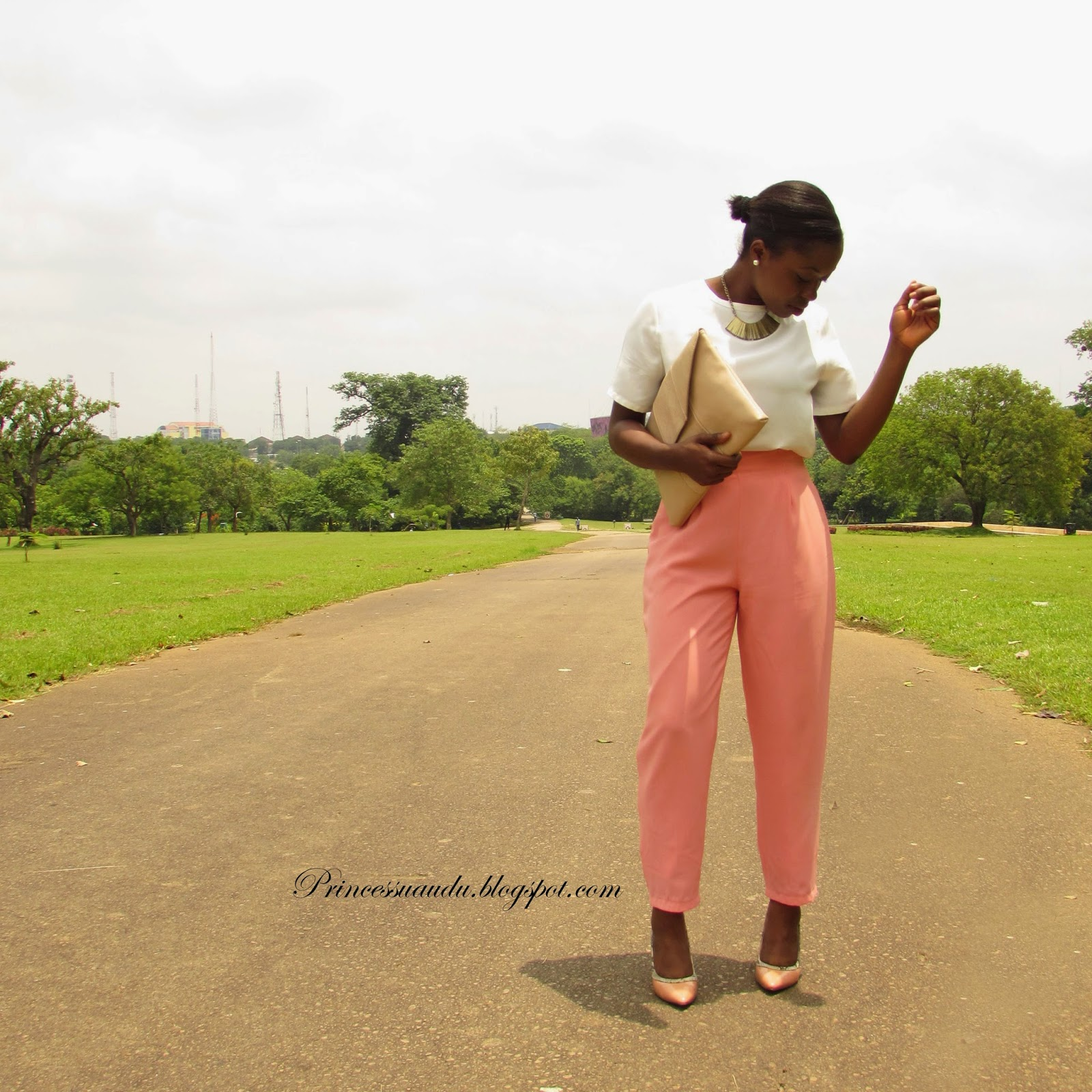 vintage, highwaist, trousers, peach,sneakeskin, pumps