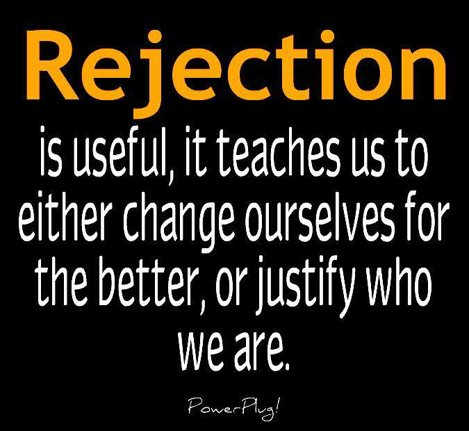 Life Inspiration Quotes: What Rejection Teaches Us Inspiration