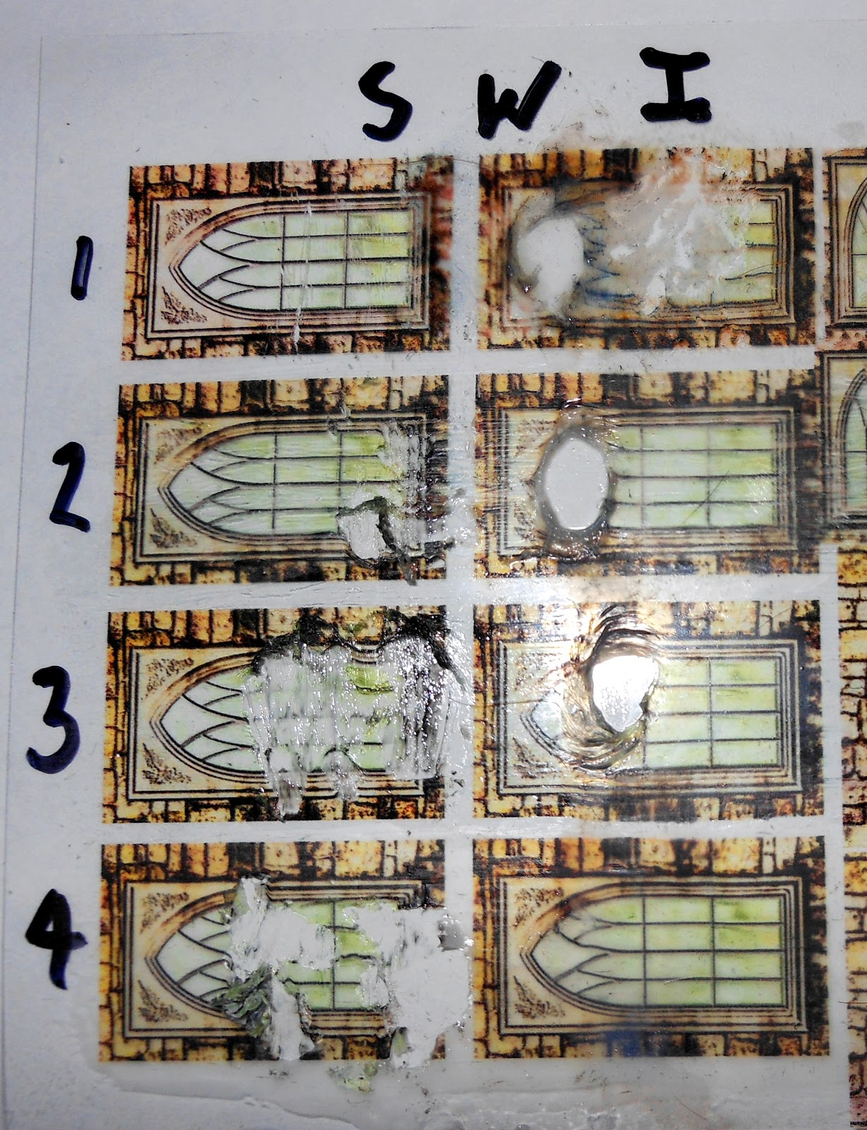Colonel Shofer S Mild Ocd Model Blog Colonel S Cardstocking Compendium Part 17