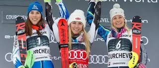 ESQUÍ ALPINO - Mikaela Shiffrin es la esquiadora más joven en alcanzar 50 victorias en Copas del Mundo