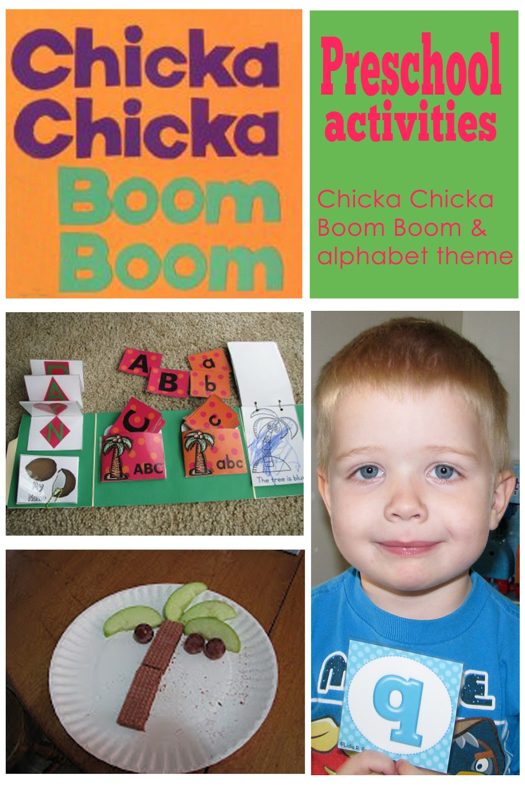 Mommy S Little Helper Chicka Chicka Boom Boom Alphabet Preschool Theme