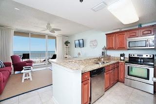 The Beach Club Condo For Sale Gulf Shore Alabama Real Estate Unit502 Living Room Kitchen