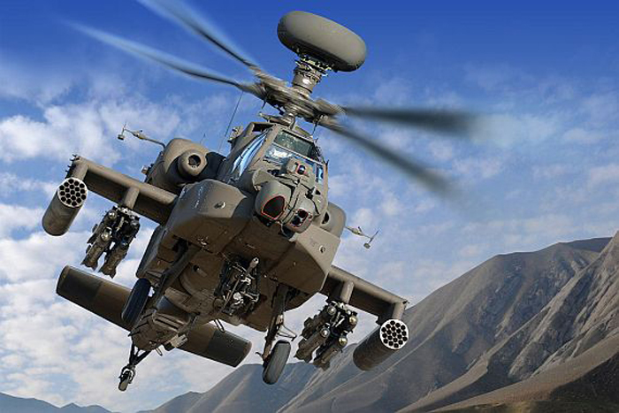 Helikopter AH-64E Guardian