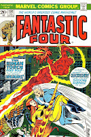 Fantastc Four v1 #131 marvel comic book cover art by Jim Steranko