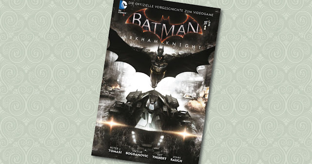 Batman Arkham Knight Panini Cover